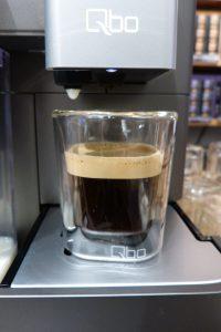 Qbo Kaffeemaschine Espresso Crema
