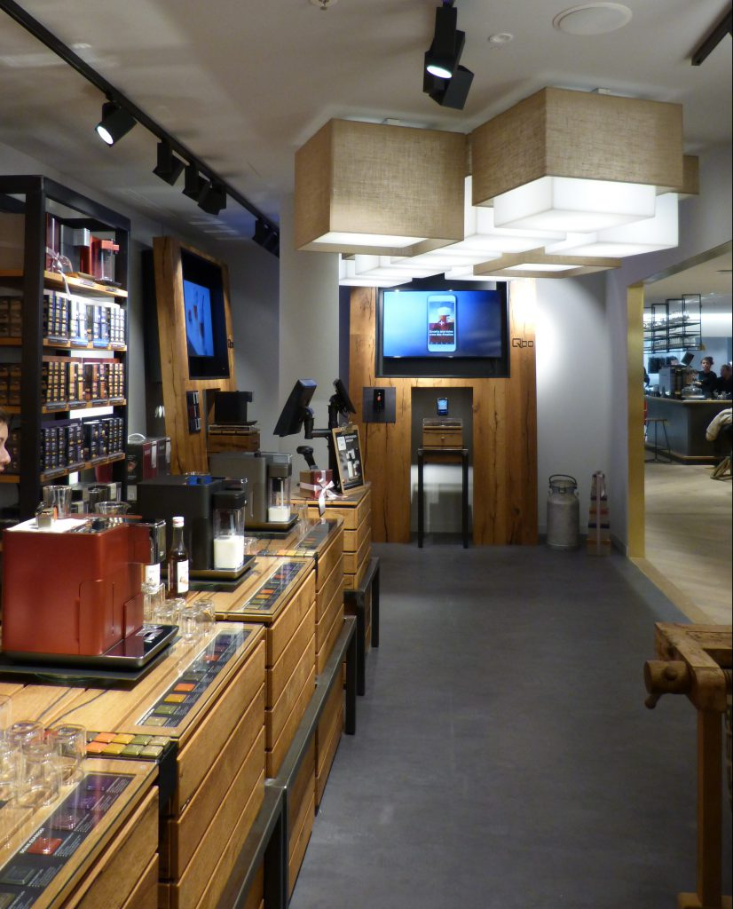 Qbo Kaffeemaschine Flagship Store München Oberpollinger