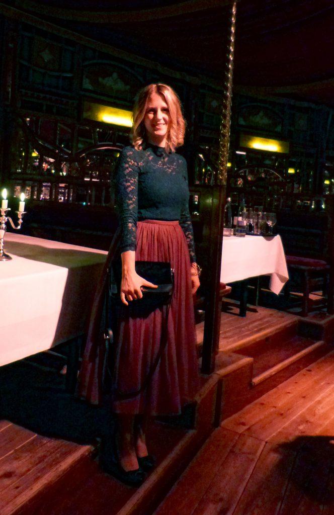 Outfit Tüllrock Carrie Bradshaw Paris