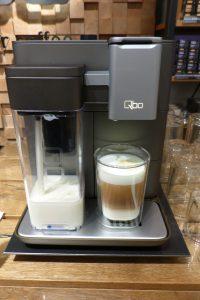 Qbo Kaffeemaschine Latte Macchiato