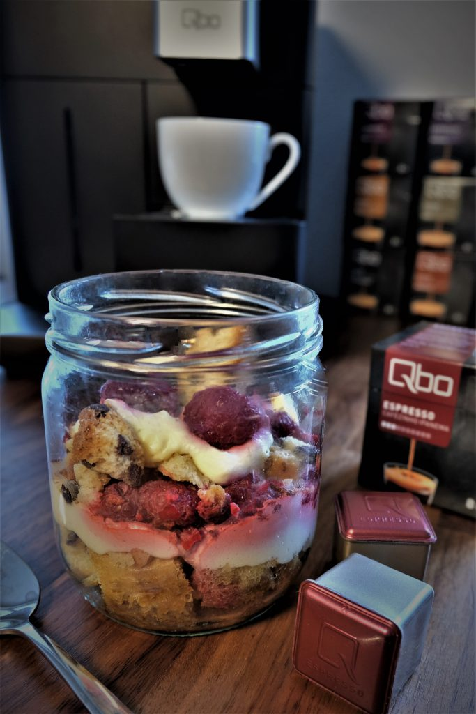 Himbeertiramisu Qbo Espresso